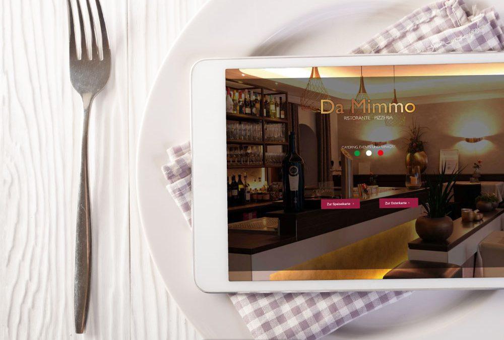 Webdesign. - Da Mimmo | ARTKURAT ® Werbeagentur - Bremen, Delmenhorst, Oldenburg | Kreativ im Detail.