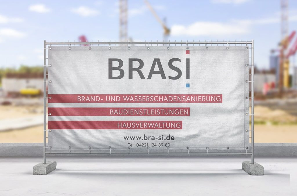 Referenz Aussenwerbung BRASI Bauzaunbanner