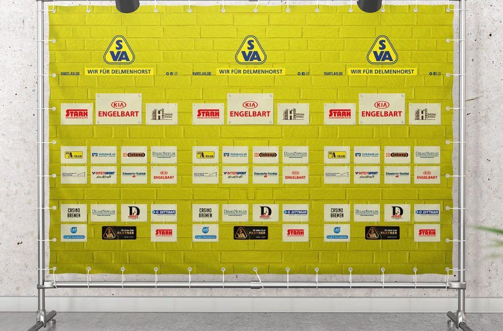 Kreation Interviewwand SVA | ARTKURAT ® Werbeagentur