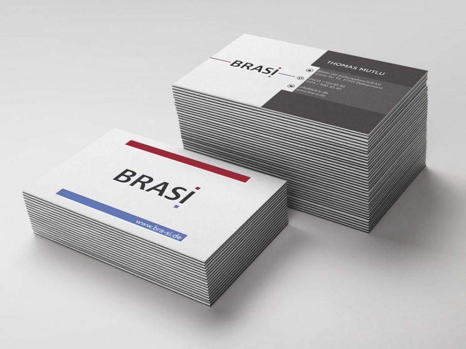 Referenz Kreation Brasi Visitenkarten | ARTKURAT ® Werbeagentur