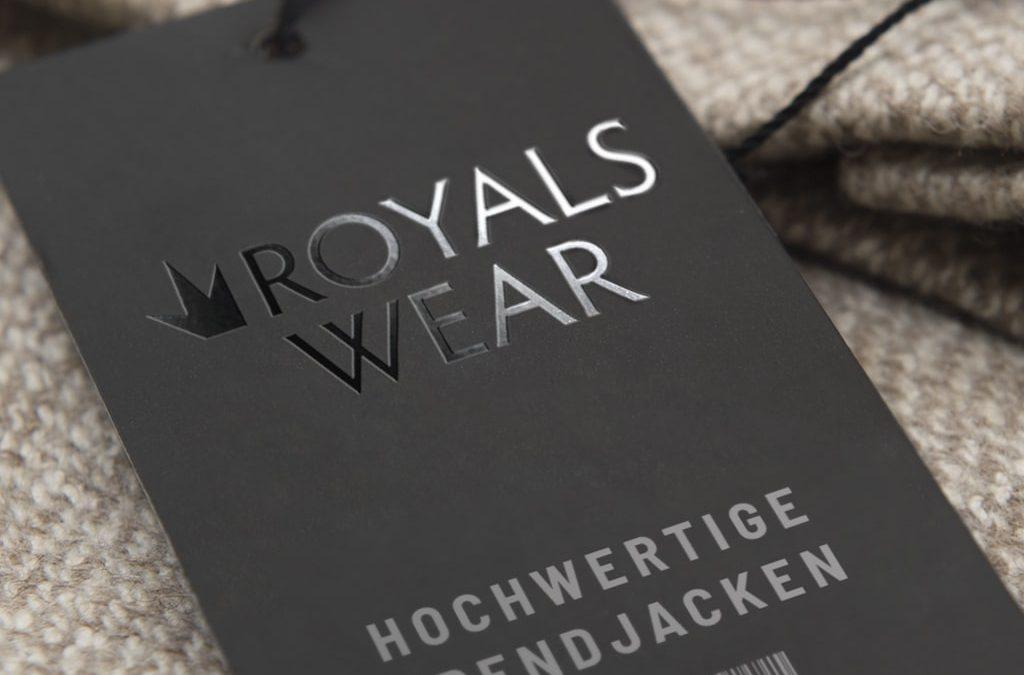 Referenz Logodesign Royalswear   ARTKURAT ® Werbeagentur