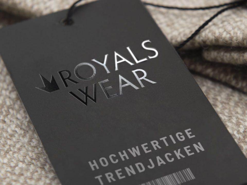 Referenz Logodesign Royalswear | ARTKURAT ® Werbeagentur