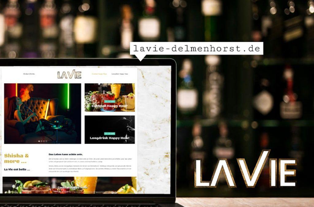 Referenz Webdesign La Vie