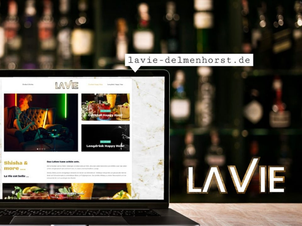 Referenz Webdesign La Vie