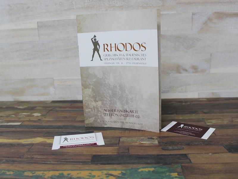 Rhodos Ausserhauskarte