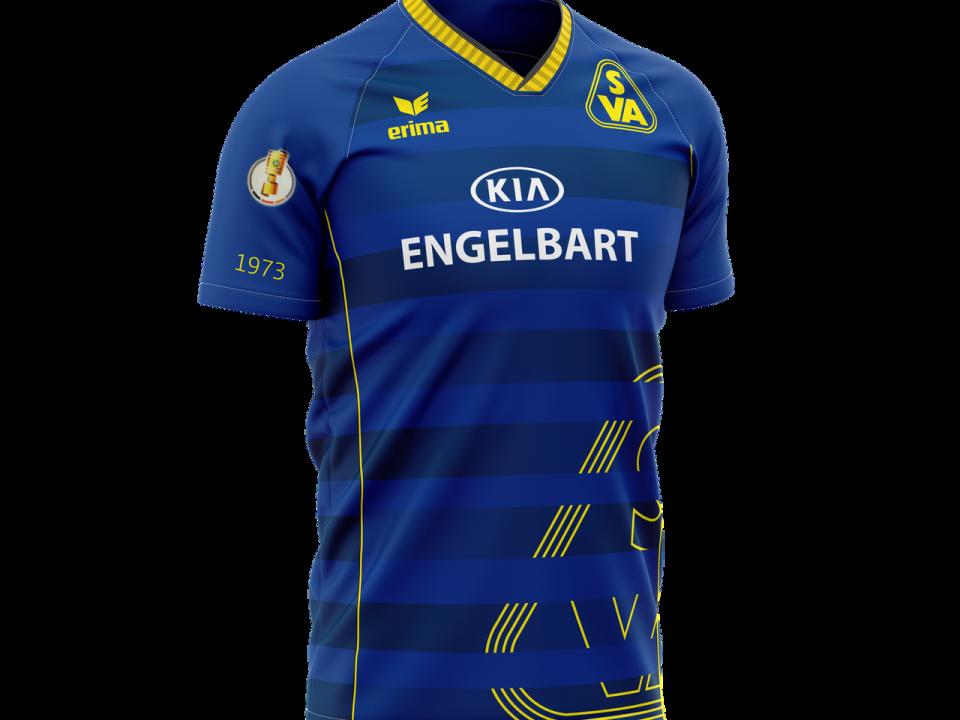 Kreation. - SV Atlas DFB-Pokal Trikot | ARTKURAT ® Werbeagentur - Bremen, Delmenhorst, Oldenburg | Kreativ im Detail.