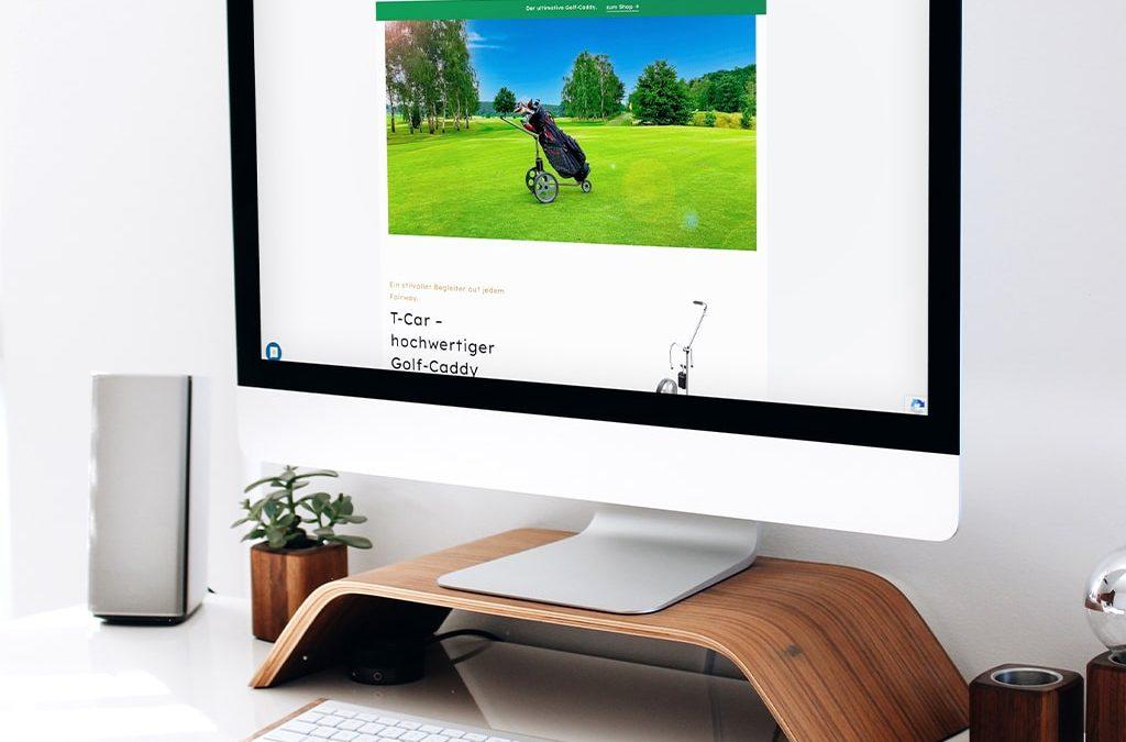 Webdesign Referenz T-Car Onlineshop   ARTKURAT