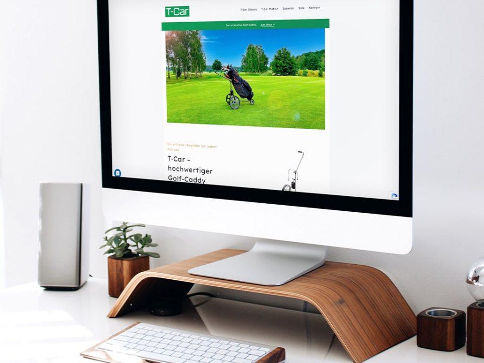Webdesign Referenz T-Car Onlineshop | ARTKURAT