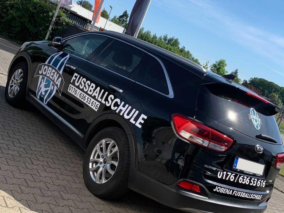 Fahrzeugfolierung Referenz für Jobena