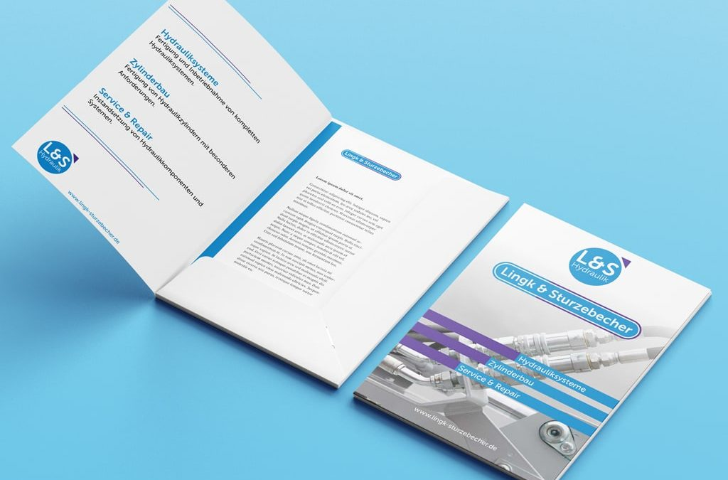 Corporate Design Referenz L&S Logo Redesign und Folder | ARTKURAT ® Werbeagentur