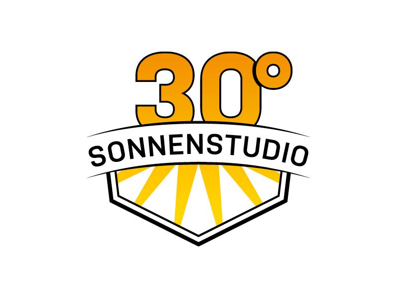 30° Sonnenstudio Logoerstellung