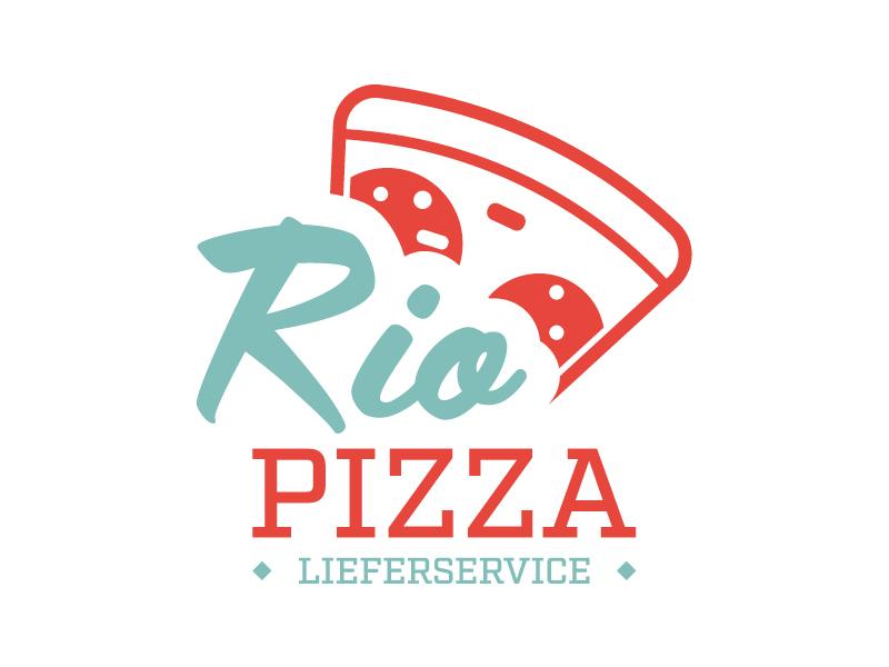 Rio Pizza Logoerstellung
