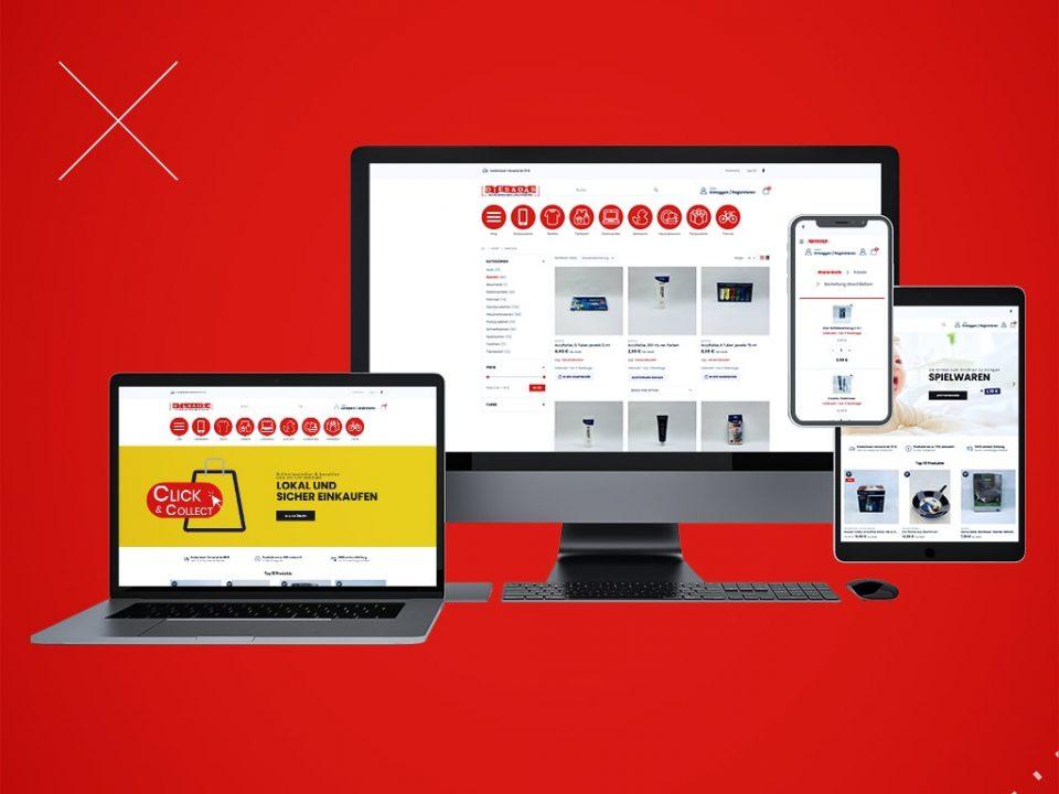 Webdesign Referenz Onlineshop für Dies & das